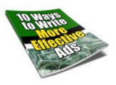Thumbnail 10 ways to better Ads ***WITH PLR RIGHTS***