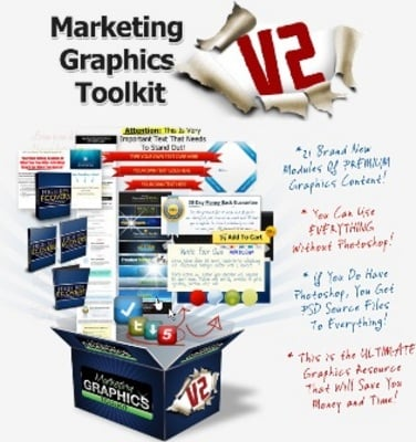 Product picture Marketing Graphics Toolkit ***WITH PLR RIGHTS***
