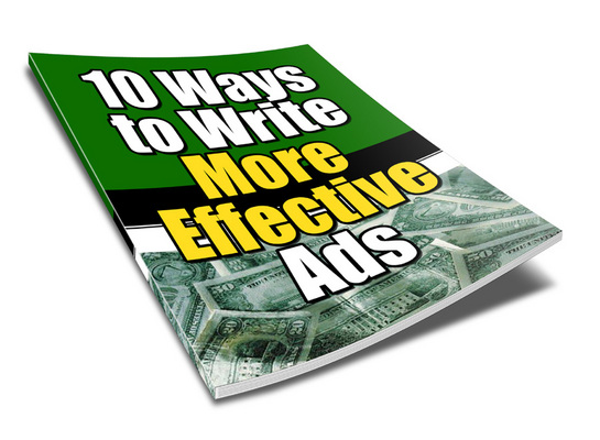 Product picture 10 ways to better Ads ***WITH PLR RIGHTS***