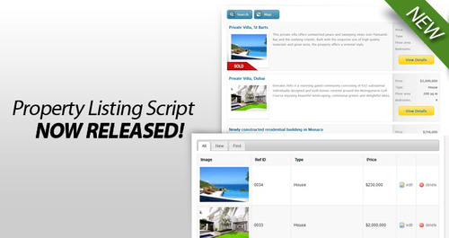 Product picture *** Real Estate Script ***